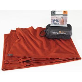 Cocoon Blanket Merino Wool/Silk Dark Terracotta